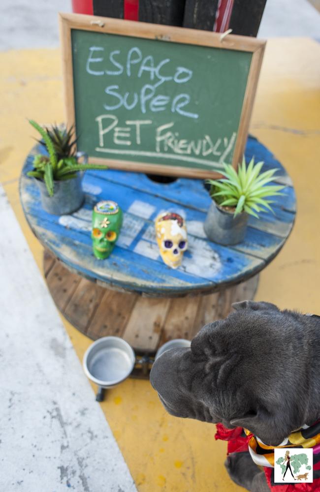 espaço pet friendly