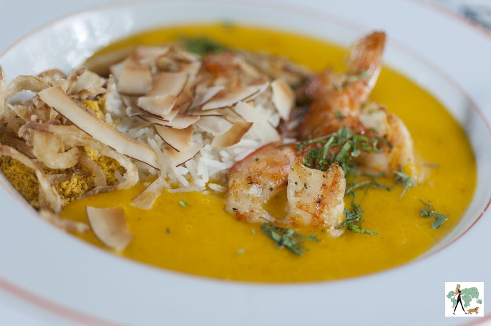 bobó de camarão do restaurante Ton Ton