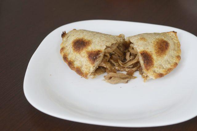 empanada de shitake