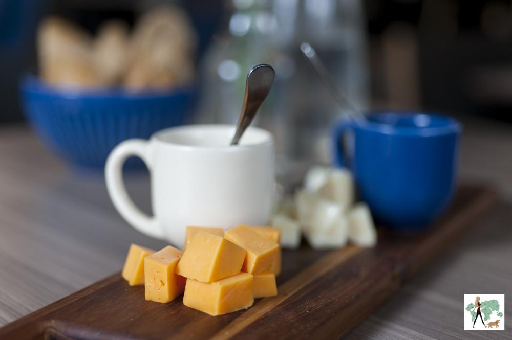 tábua de queijos do restaurante Epi Gastronomia