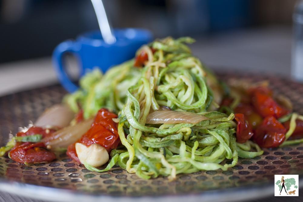 Espagueti de abobrinha do Epi Gastronomia