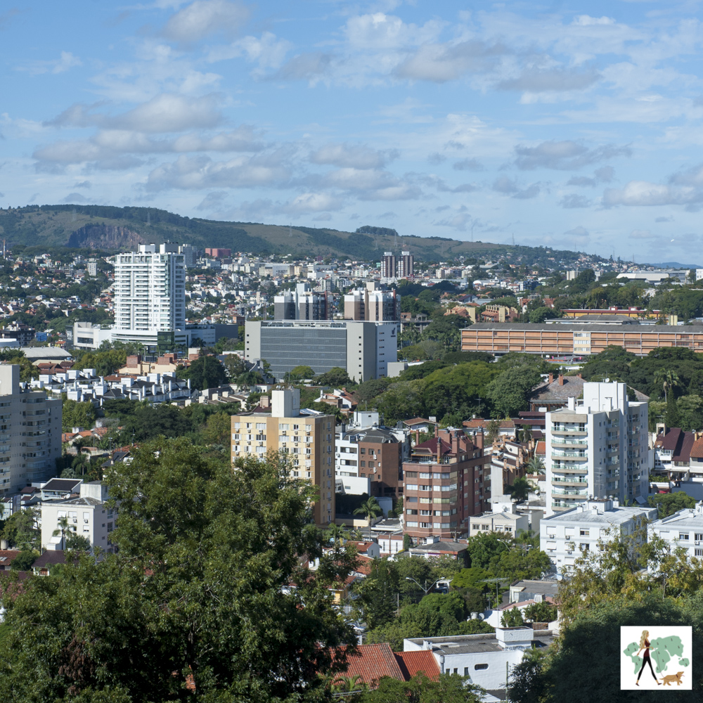 vista de Porto Alegre