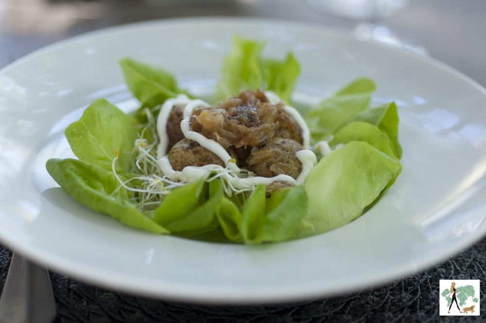prato de salada do Le Bistrot
