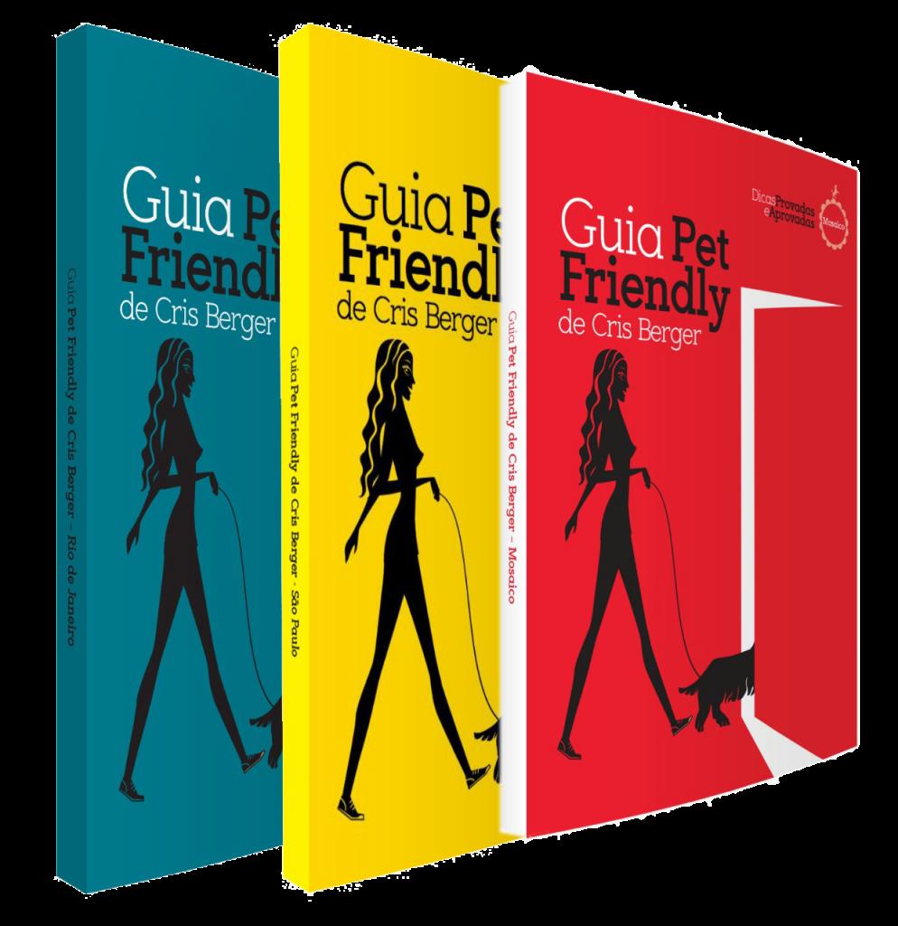 capa dos livros do Guia Pet Friendly