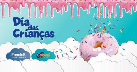 convite do evento de dia das crianças da Cobasi